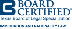Board Certified Immigration and Nationality Law